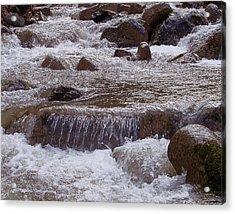 Ellenville Waterfall Acrylic Print
