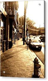 Ellicott City Street Acrylic Print by Utopia Concepts
