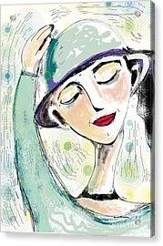 Ellie Acrylic Print by Elaine Lanoue