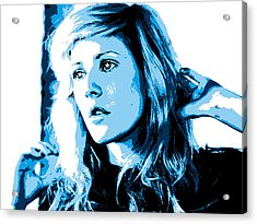 Ellie Goulding Starry Eyed Acrylic Print