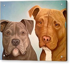 Elliot And Maxi Acrylic Print