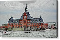 Ellis Island No. 49-1 Acrylic Print by Sandy Taylor
