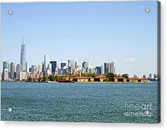 Ellis Island New York City Acrylic Print