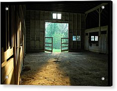 Ellwood Barn 2 Acrylic Print