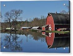 Elm Lea Farm Acrylic Print