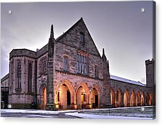 Elphinstone Hall - University Of Aberdeen Acrylic Print