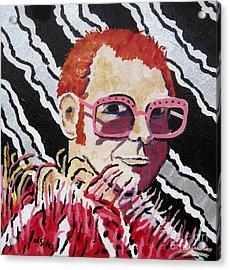 Elton John - Rocket Man Acrylic Print