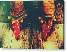 Elves And Feet Acrylic Print
