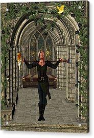 Elvin Hallway Acrylic Print