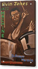 Elvin Jones Jazz Machine Acrylic Print
