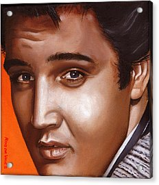 Elvis 24 1957 Acrylic Print by Rob De Vries