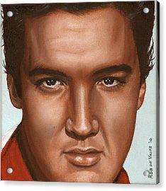 Elvis 24 1958 Acrylic Print by Rob De Vries