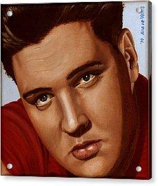 Elvis 24 1959 Acrylic Print by Rob De Vries