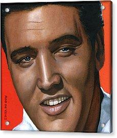 Elvis 24 1961 Acrylic Print by Rob De Vries