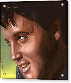 Elvis 24 1966 Acrylic Print by Rob De Vries