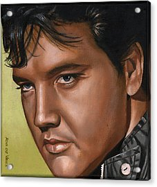 Elvis 24 1967 Acrylic Print by Rob De Vries