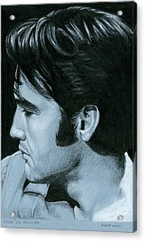 Elvis 68 Revisited Acrylic Print