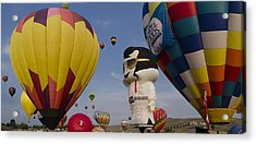 Elvis At Reno Balloon Race Acrylic Print