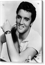 Elvis Presley, Ca. 1950s Acrylic Print by Everett