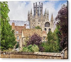 Acrylic Print featuring the photograph Ely Cathedral, England by Colin and Linda McKie