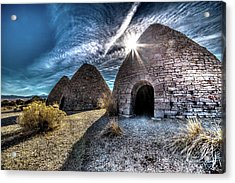 Ely Charcoal Ovens Acrylic Print by Bryan Moore