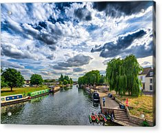 Acrylic Print featuring the photograph Ely Riverside by James Billings