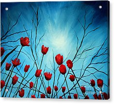 Embrace Acrylic Print by Elizabeth Robinette Tyndall