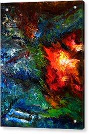 Embrace Acrylic Print by Lou Ewers