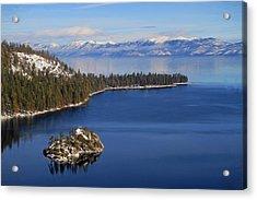 Emerald Bay At Lake Tahoe Acrylic Print
