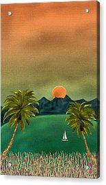 Emerald Bay Acrylic Print