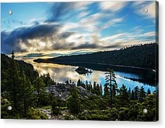 Acrylic Print featuring the photograph Emerald Bay Sunrise Lake Tahoe by Brad Scott