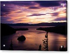 Emerald Bay Sunrise - Lake Tahoe, California Acrylic Print