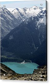 Emerald Cheakamus Lake Whistler Canada Acrylic Print by Pierre Leclerc Photography