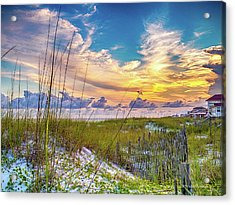 Emerald Coast Sunset Acrylic Print
