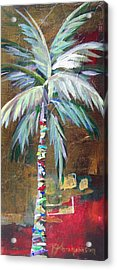 Emerald Fire Palm  Acrylic Print