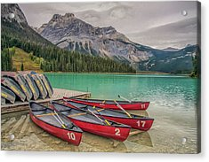 Acrylic Print featuring the photograph Emerald Lake 2009 01 by Jim Dollar