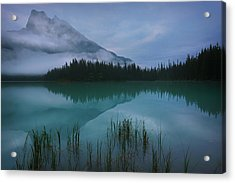 Emerald Lake Before Sunrise Acrylic Print