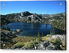 Emerald Lake From Jmt  Acrylic Print