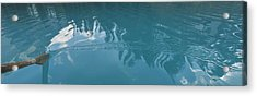 Emerald Lake Glacier Waters Acrylic Print by Angela A Stanton