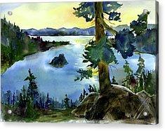 Emerald Morn, Lake Tahoe Acrylic Print