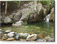 Emerald Pool - White Mountains New Hampshire Usa Acrylic Print