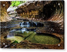 Emerald Pool Acrylic Print by James Marvin Phelps
