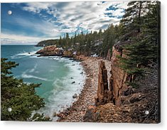 Emerald Shores At Monument Cove Acrylic Print
