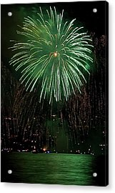 Emerald Sky Acrylic Print by David Patterson