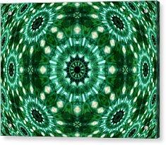 Emerald  Acrylic Print by Thomas  MacPherson Jr