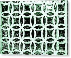 Emerald Window 2 Angeloff J Acrylic Print by Joy Angeloff