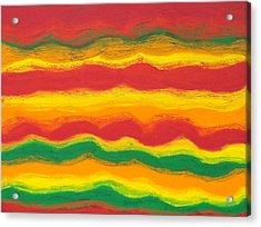 Emergence No. 1 Acrylic Print by Elizabeth Dawson