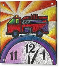 Emergency Acrylic Print by Leon Zernitsky