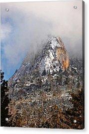 Emerging Peak - Idyllwild Acrylic Print