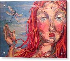 Emily 2 Acrylic Print by Heather Roddy